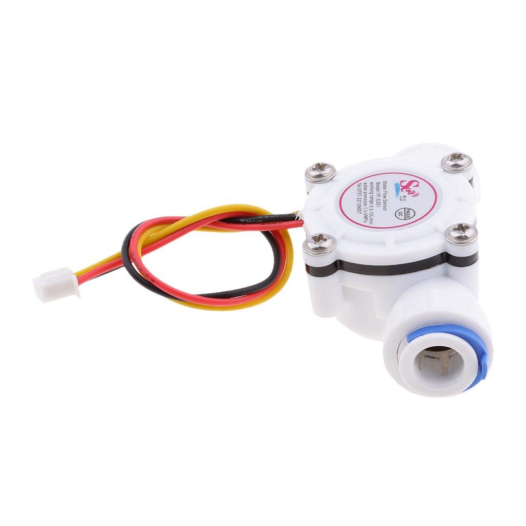 Sharplace 3/8' Externe Débit D'Eau 0.3 À 10L/Min Capteur Détecteur d'Eau Sensor Flow Meter