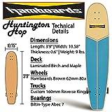 Hamboards Huntington Hop - Handcrafted Longboard