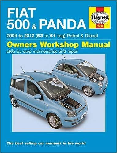 Fiat 500 & Panda Petrol & Diesel 04-12 Hardcover – 2001