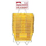 Only Hangers Plastic Shopping Baskets - Durable
