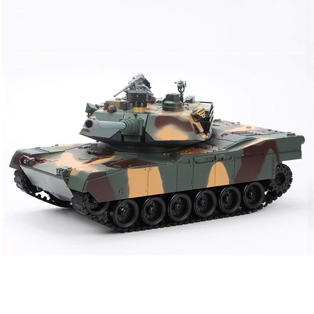 Pinjeer スーパーラージ50 * 19 * 18.5cm子供充電リモートコントロールタンク男の子のおもちゃタンクモデルの戦闘は、弾丸トラックを起動することができますキッズバレルギフトキッズ3 + (Color : Style-A, サイズ : 4-Battery) B07RBRBWBL Style-A 4-Battery