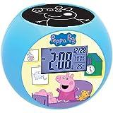 Lexibook - RL975PP - Peppa Pig Radio Alarm Clock with Ceiling Projector by LEXIBOOK