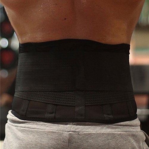 Your Supermart Waist Trimmer Belt Support Adjustable Weight Loss Sweat Enhancer Belt Stomach Wrap Sauna Belts Slimmer Body Shaper Wrap for Men Women