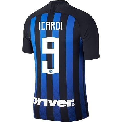 402d68cb5 Amazon.com : Nike Inter Milan Home Vapor Match Icardi 9 Jersey 2018 ...