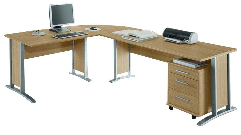 Moebel Dich Auf Office Line Winkelkombination In Eiche Sonoma