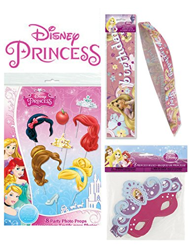 Galleon Disney Princess 17 Piece Photo Prop Kit 8 Disney