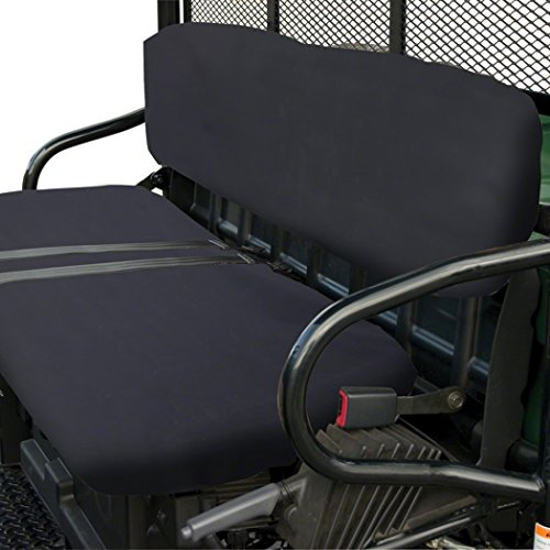 Classic Accessories QuadGear UTV Seat Cover For Polaris Bucket Seats, Black ()