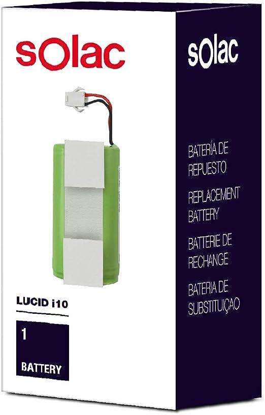 Solac S99942600 - Batería de respuesto para robot aspirador Lucid i10: Amazon.es: Hogar