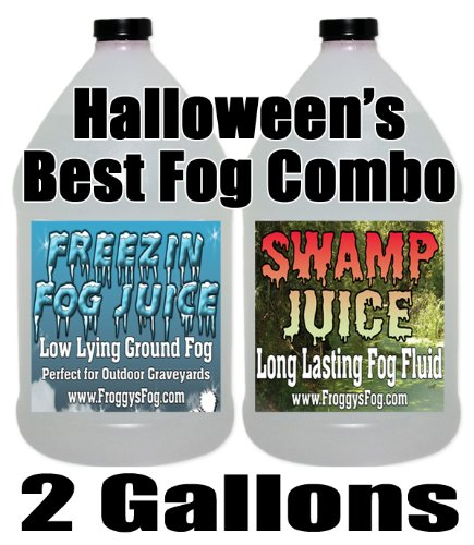 Froggys Swamp / Freeezin Fog Fluid Combo - 2 Gallons
