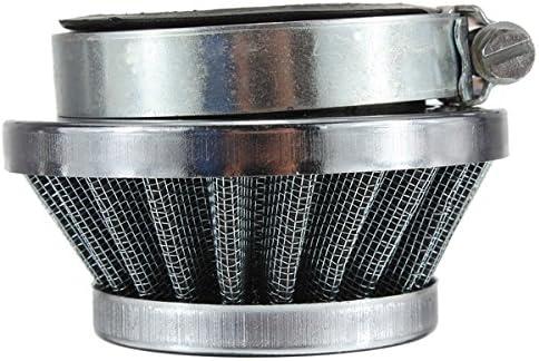 Gazechimp 45mm Motorrad Sportluftfilter Luftfilter Air Filter f/ür Motorrad Vergaser