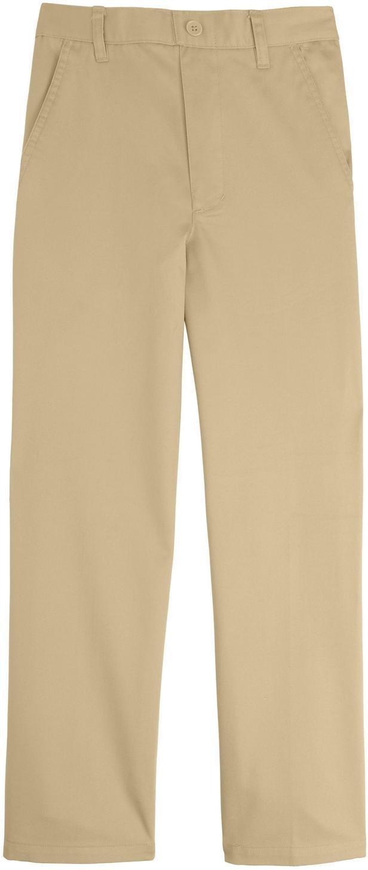 French Toast School Uniform Boys Pull On Pants, Khaki, 10