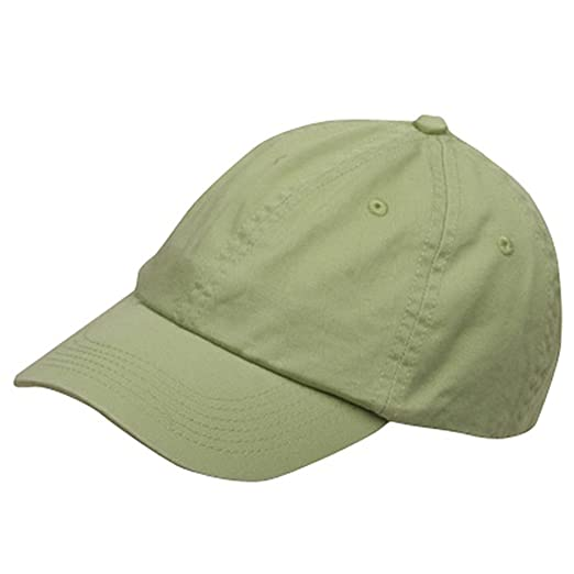 cf5d1213039 Cameo Youth Washed Chino Twill Cap-Apple Green OSFM at Amazon Men s ...