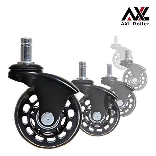 AXL Office Chair Caster Wheels Replacement Heavy Duty wit...