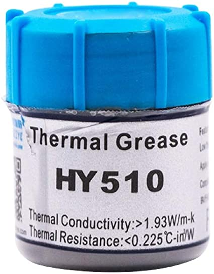 Paste 50pcs 10 Compound 5 1g Grey Thermal Grease 1.93W//m-k HY510-3