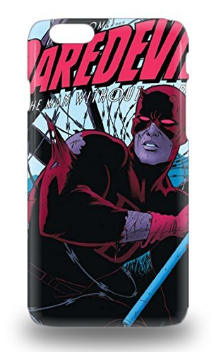 6 Snap On Case Cover Skin For Iphone 6 American Daredevil &Personalized Rosesea