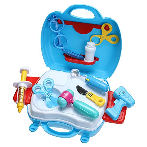 Toy Medical Kit Cosplay Doctor Nurse Role Play Case Simulation For Kids Playing (Lambie Costume Makeup)