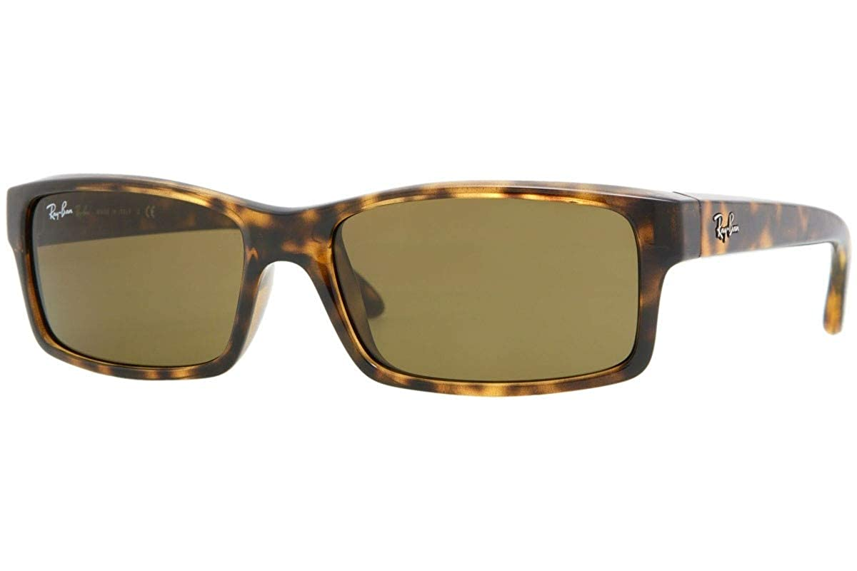 78d084b0830 Amazon.com  Ray Ban Men s Rb4151 Light Tortoise Frame Brown Lens Plastic  Sunglasses  Clothing