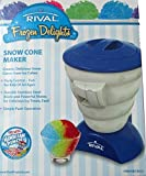 snow cone makers for kids - Rival Frozen Delights Snow Cone Maker Blue