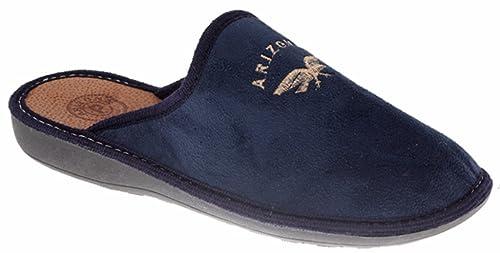 ARIZONA by PATRIZIA pantofole ciabatte da uomo INVERNALI mod. 1915 blu (42) 82bf1342e7b