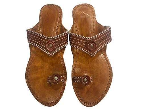 Step n Style Kolhapuri Chappal Indian Sandals Kolhapuri Slippers Ethnic Shoes Womens Sandals Indian Leather Chappals zJ1H5C5fF