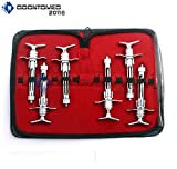 OdontoMed2011 NEW PREMIUM GRADE SET OF 6 PIECE ASPIRATING SYRINGE 1.8CC DENTIST DENTAL INSTRUMENTS ODM