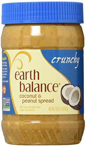 Earth Balance Peanut Butter, Crunchy Coconut, 16-Ounce