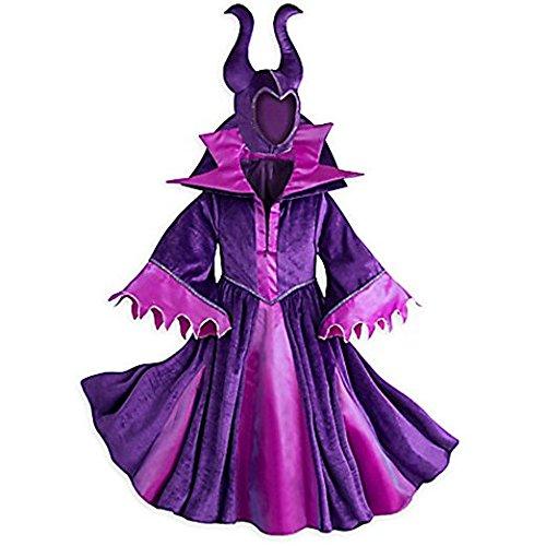 Disney Store Deluxe Maleficent Halloween Costume Descendants Sleeping Beauty (XL Extra Large -