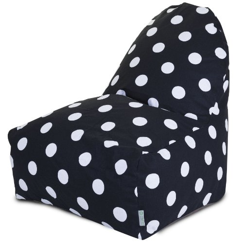 Majestic Home Goods Polka Dot Kick-It Chair, Large by Majestic Home Goods (Image #1)