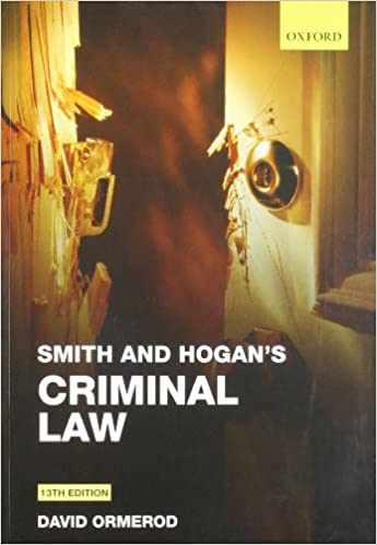 Hogan Smith and Ormerods Criminal Law