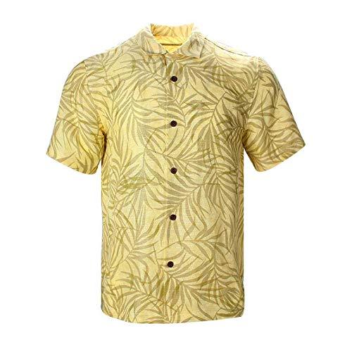 Havana Breeze Men's Relaxed-Fit Linen Shirt XL