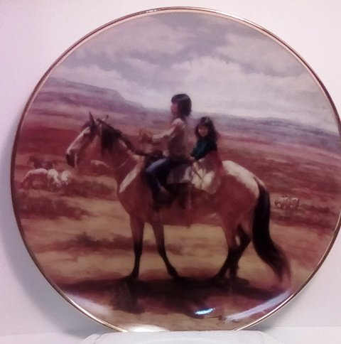 - Children of the Sun Limited Edition Plate by The Franklin Mint