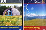 The History Channel : Renewable Energy , Natural Environment Homes : Going Green Living - Solar Power , Wind , Biofuel & More : 2 Pack