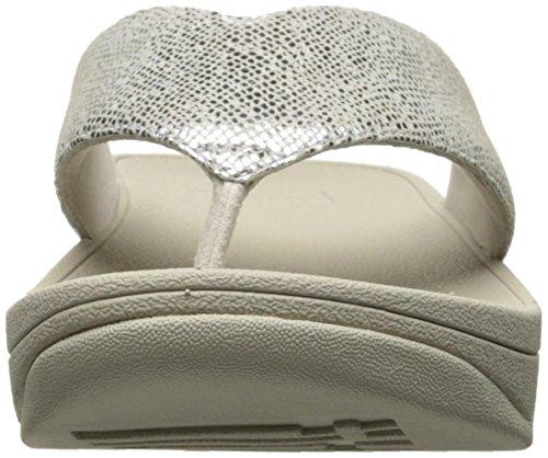 Thong Women's Fitflop Silver Flip Toe Swoop Flop 6ztqa