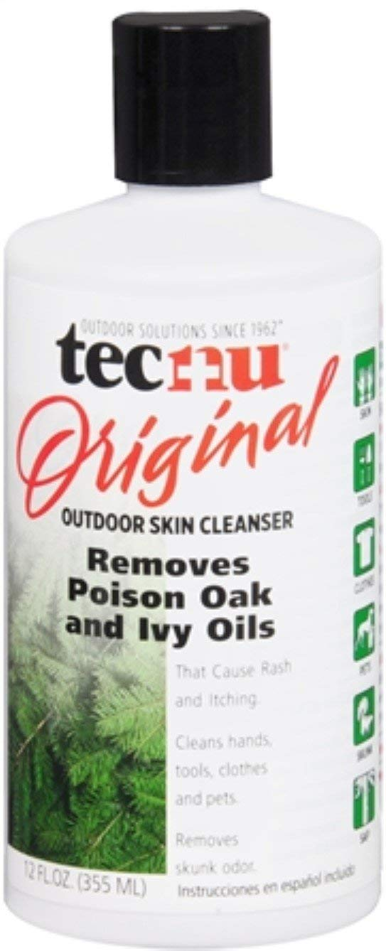 Tecnu Skin Cleanser 12 oz (Pack of 6) by Tecnu