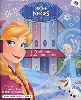 La Reine Des Neiges Disney Ma Premiere Bibliotheque