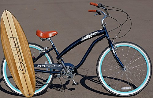 Fito Anti-Rust & Light Weight Aluminum Alloy Frame, Modena II Alloy 7-Speed for Women 26