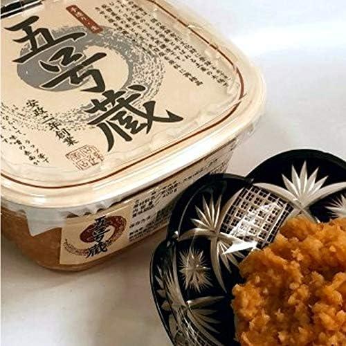 石孫本店 五号蔵味噌 1.5kg 朱樽