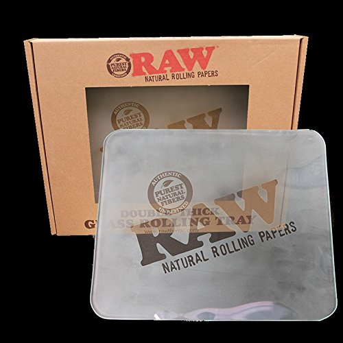 RAW Frosted Glass Tray - Large by RAW