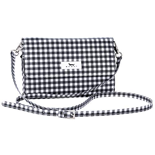 (SCOUT DECKER Crossbody Bag for Women, Detachable Strap Converts to Wristlet Wallet or Small Clutch (Multiple Patterns Available) )