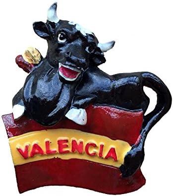 Spanish Bullfighting Fridge Magnet Tourist Souvenir Gift 3D Resin 5*7CM