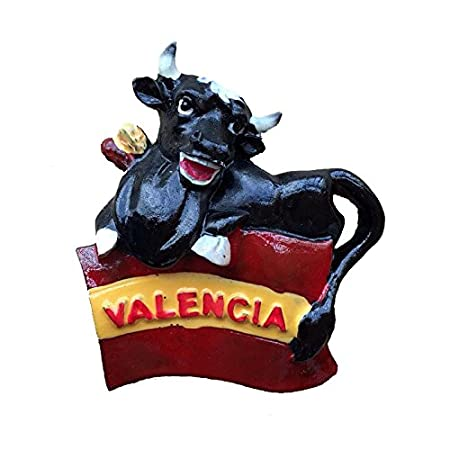 Wedare - Imán 3D para nevera, diseño de bandera de España: Amazon ...