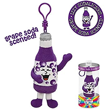 Whiffer Sniffers Izzy Sodalicious Grape Soda Scented Backpack Clip