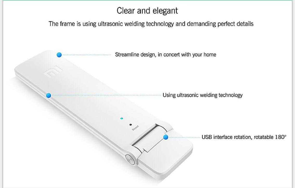 Xiaomi Mi WiFi 300M Amplifier 2 Wireless Network Device Mijia Smart App English Version by Xiaomi (Image #5)