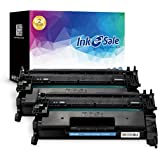 INK E-SALE Compatible Toner Cartridge Replacement for HP 26A CF226A (Black, 2-Pack), for use with HP Laserjet Pro M402 M402n M402dn M402d M402dw,HP MFP M426 M426dw M426fdw M426fdn Printer
