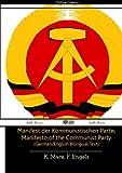 Image of Manifest der Kommunistischen Partei Manifesto of the Communist Party (German/English Bilingual Text)