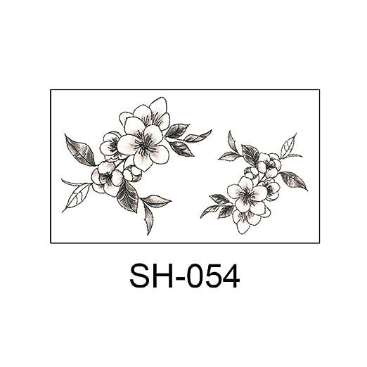 zgmtj Adhesivo de Tatuaje pequeño y Fresco SH-054 105x60mm: Amazon ...