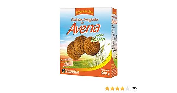 HIJAS DEL SOL Galletas Integrales de Avena, Sabor limón - 500 gr
