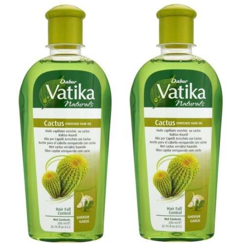 Huile capillaire Vatika Cactus–2x 200ml