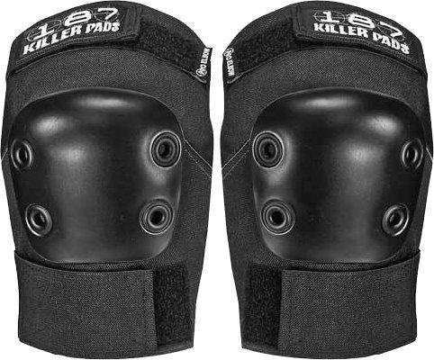 Pro Elbow Pads (187 Killer Pads Pro Elbow Pads - Black - Large)