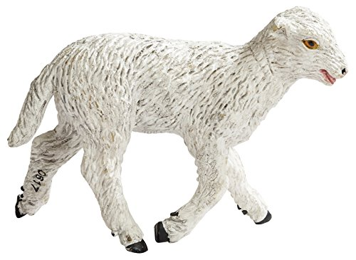 Safari Ltd Farm - Lamb - Realistic Hand Painted Toy Figurine Model - Quality Construction from Phthalate, Lead and BPA Free Materials - For Ages 3 and ()